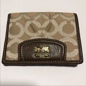 Coach Signature Womens Wallet